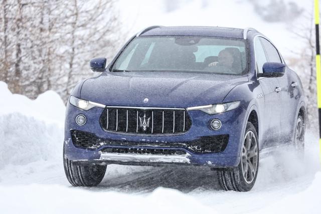 Fahrbericht: Maserati Levante  - Passt auch auf Eis
