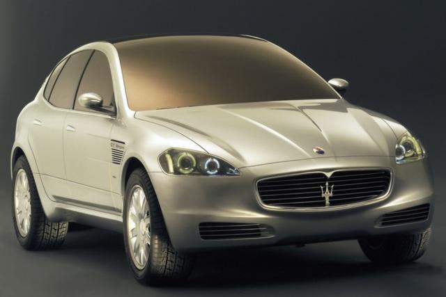 Maserati-SUV - Mit Dreizack ins Gelände