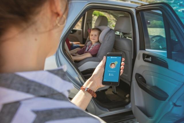Smarter Kindersitz - Handy warnt bei vergessenem Baby