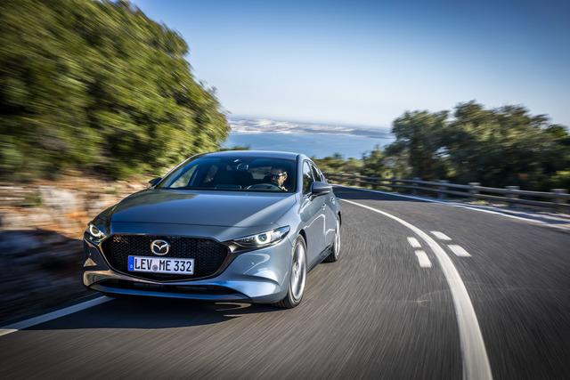 Fahrbericht: Mazda3 und CX-30 e-Skyactiv X   - Diesotto statt Diesel