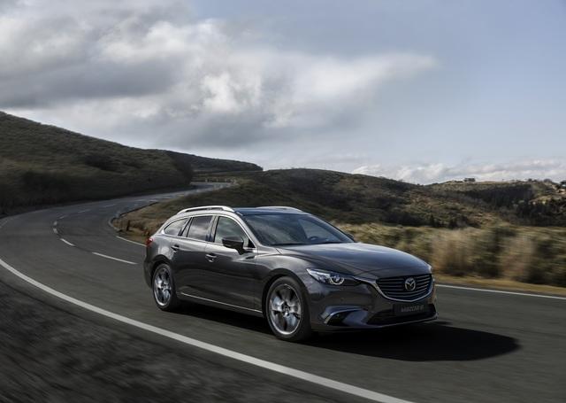 Mazda6 zum Modelljahr 2017 überarbeitet - Mehr Technik, ein wenig bunt