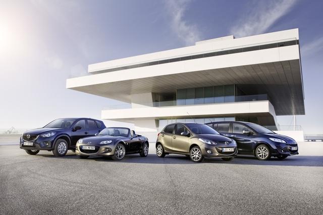 Mazda-Sondermodelle - Mehr Extras für fast alle