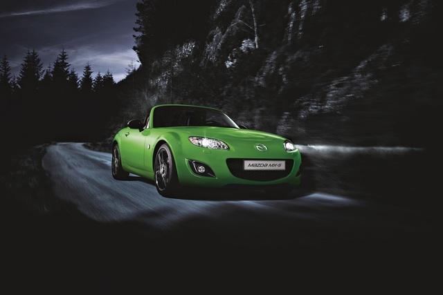 Mazda MX-5 Sondermodell - Grüner Roadster mit Zeitvorteil
