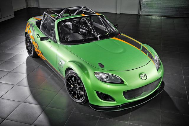 Mazda MX-5 Racecar - Roadster für die Rennstrecke
