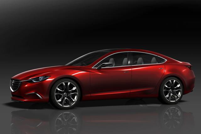 Mazda Takeri/Mazda6 - Mehr Mut und weniger Verbrauch