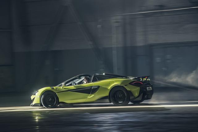 McLaren 600LT Spider - Nichts für Zögerliche