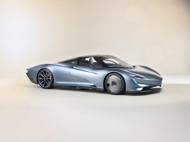 McLaren Speedtail   - 20 Jahre für zwölf km/h