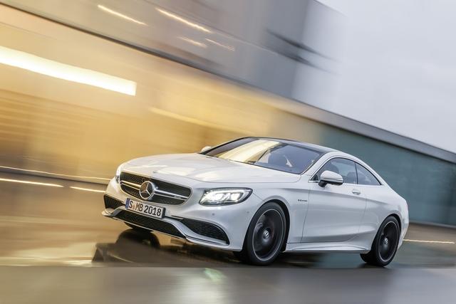 Mercedes S 63 AMG Coupé - Auf Wunsch mit Traktionsvorteil