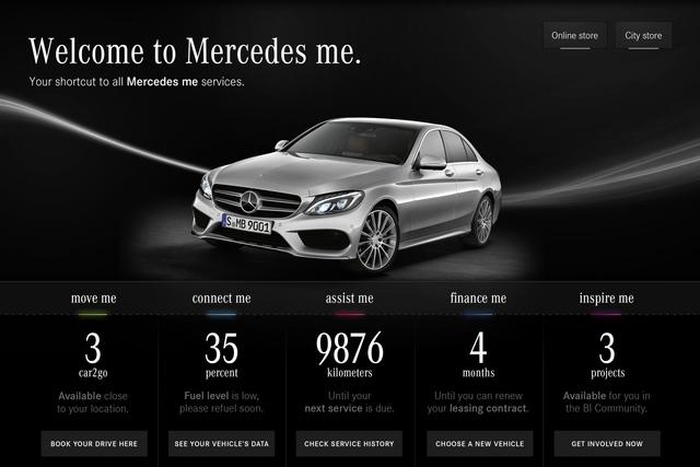 Neue Marke Mercedes Me - Mobilitätsdienstleister statt Autohersteller