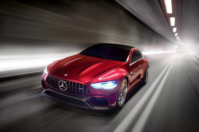 Mercedes-AMG GT Concept - Auf Expansionskurs