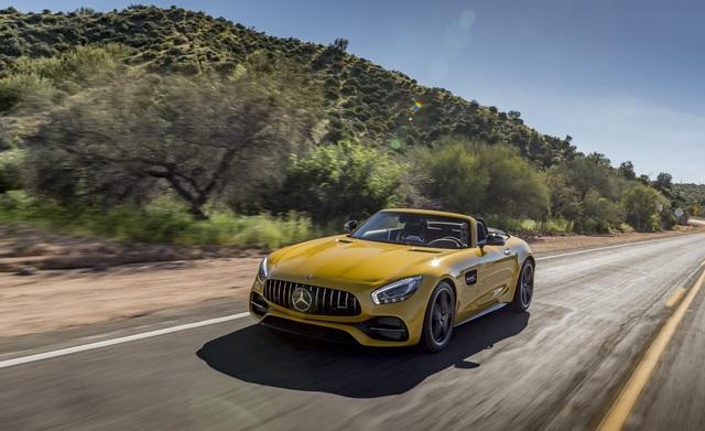 Mercedes-AMG GT Roadster (Fahrbericht) - Klappt auch offen