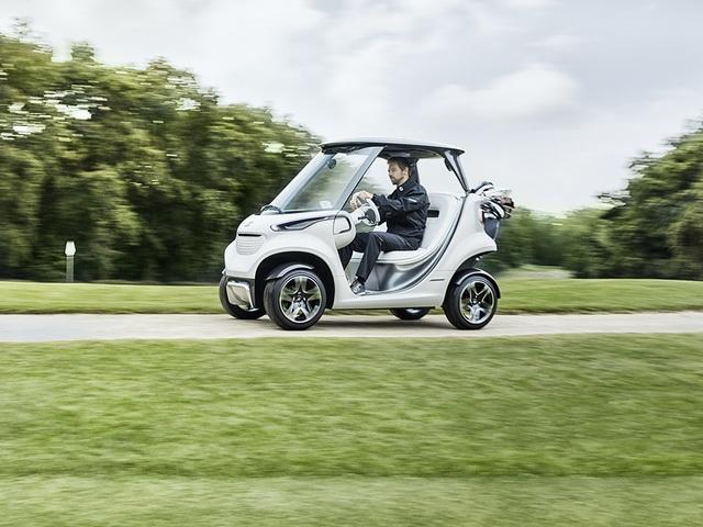 Mercedes-Benz Style Edition Garia Golf Car - Sportwagen einmal anders