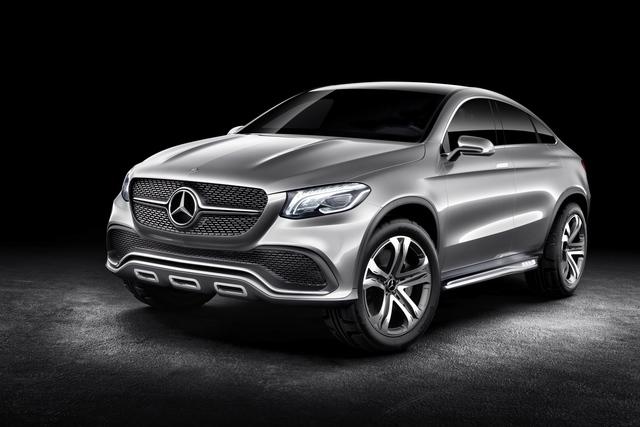 Mercedes Concept Coupé SUV - M-Klasse im Dynamik-Modus