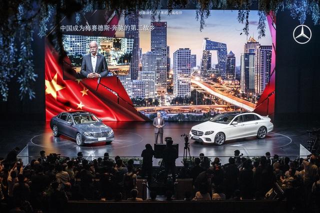 Verlängerte Mercedes E-Klasse - Aus China und nur für China