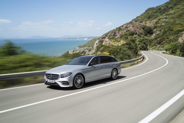 Weltpremiere Mercedes E-Klasse T-Modell - Zwischen Handel und Reise