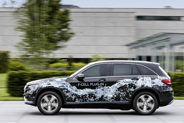 Mercedes GLC F-Cell - Wasserstoff-SUV kommt 2017