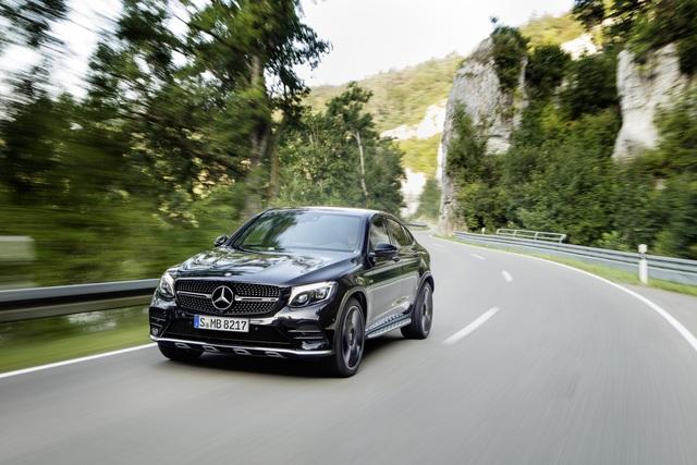 Mercedes-AMG GLC 43 4matic Coupé - Schräg und schnell