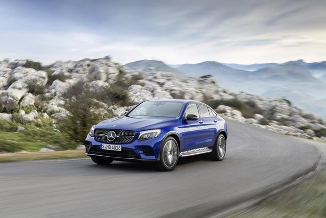 Mercedes GLC Coupé - Hinten bitte kürzen (Vorabbericht)