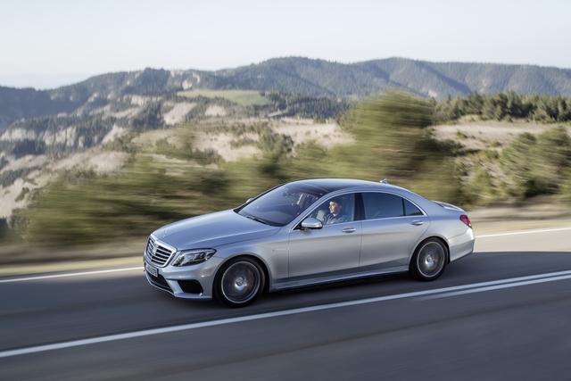 Mercedes S 63 AMG - Nicht nur Druck von hinten (Vorabbericht)