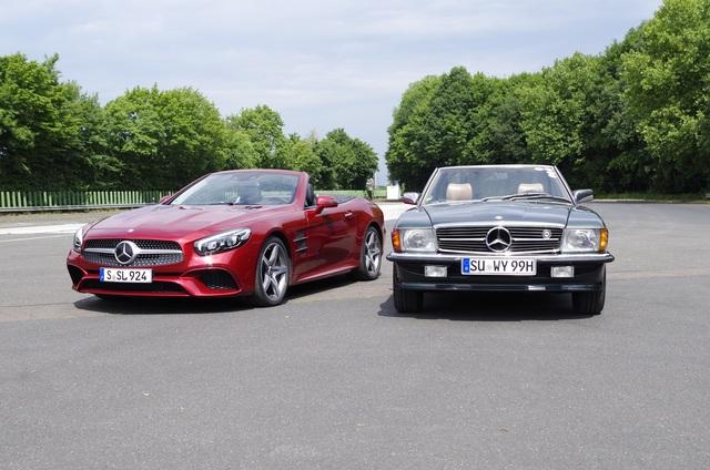 Impression: Mercedes 500 SL und SL 500 - Legende im Zeitenwandel