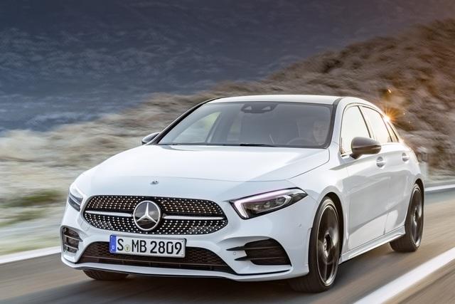 Mercedes A-Klasse - Der Kleinste ist der Modernste