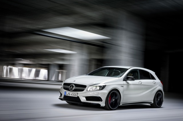 Mercedes A 45 AMG und C 63 AMG - Potente Sterne bestellbar