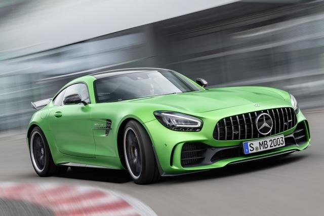 Mercedes-AMG GT Facelift - Fertig für Runde zwei