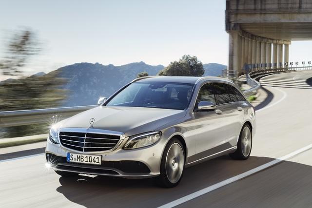 Mercedes-Benz C-Klasse geliftet -  Mehr Technik für die Mittelklasse