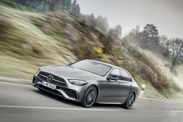Mercedes-Benz C-Klasse  - Fast wie der große Bruder
