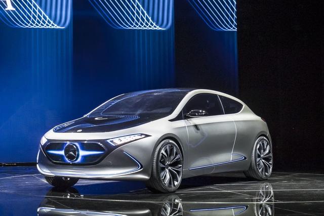 Mercedes EQA - Ausblick auf Kompakt-Stromer