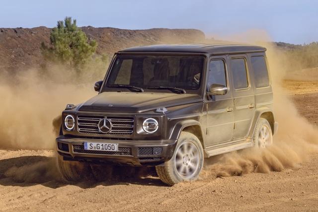 Weltpremiere: Mercedes-Benz G-Klasse - Weiter geht's