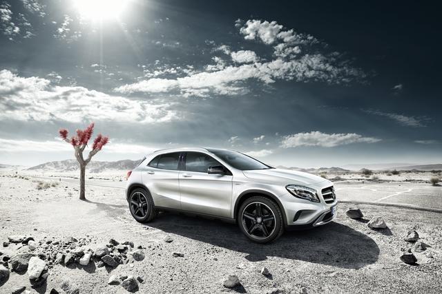 Mercedes GLA Edition 1 -  Der Erste kommt mit Extras