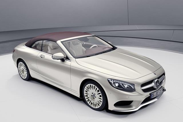 Mercedes S-Klasse Coupé/Cabrio - Schönlinge im Sondertrimm