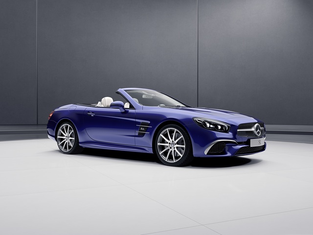 Mercedes: Sondermodelle für SL und SLC - Fesch in den Frühling
