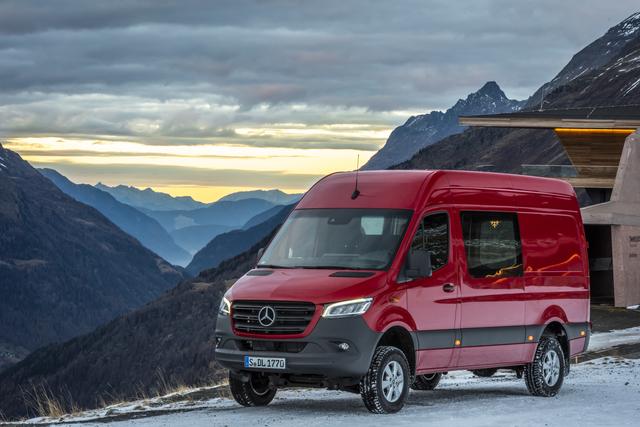 Fahrbericht: Mercedes Sprinter 319 CDI 4x4 - Transport auf fast jedem Untergrund gesichert