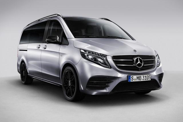 Mercedes V-Klasse Night Edition - Sparen mit schwarzen Akzenten
