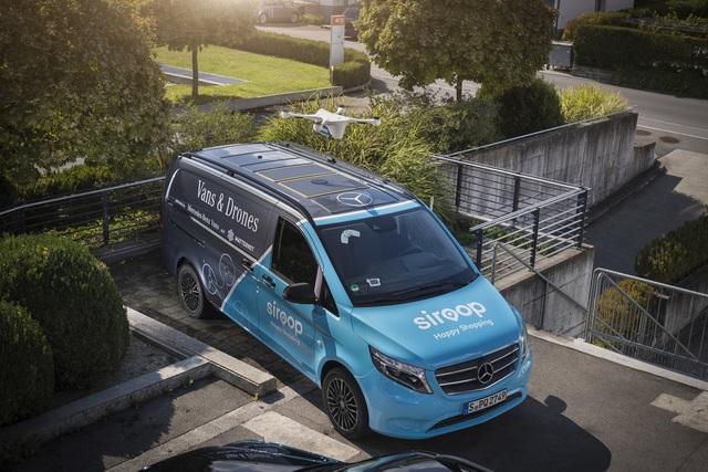 Mercedes testet Paketzustellung per Drohne - Pilotprojekt ohne Piloten