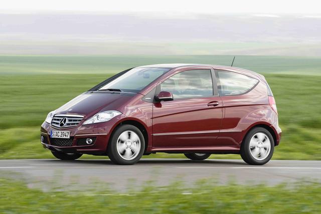 Mercedes: Aus für das A-Klasse Coupé