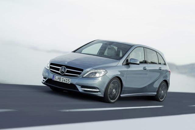 Mercedes B-Klasse - Flacher und sicherer