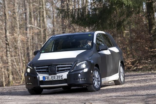 Neue Mercedes-Benz B-Klasse - Wie immer und doch ganz anders