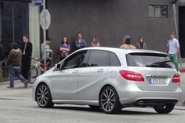Mercedes B-Klasse - Frisch ertappt