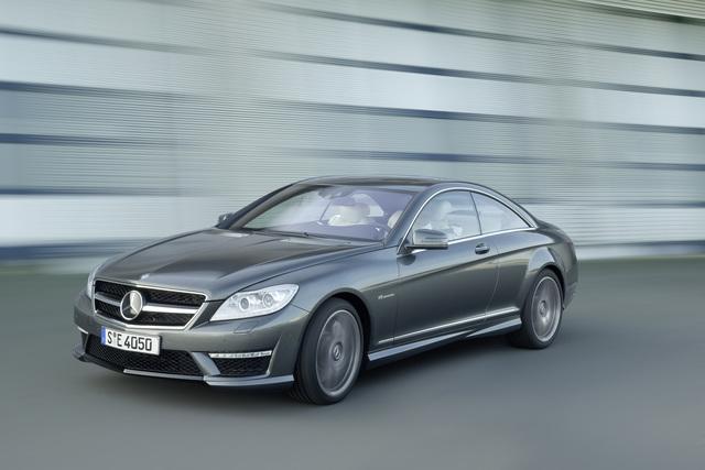 Mercedes CL 63 AMG - Mehr Leistung, geringerer Verbrauch (Vorabbericht)