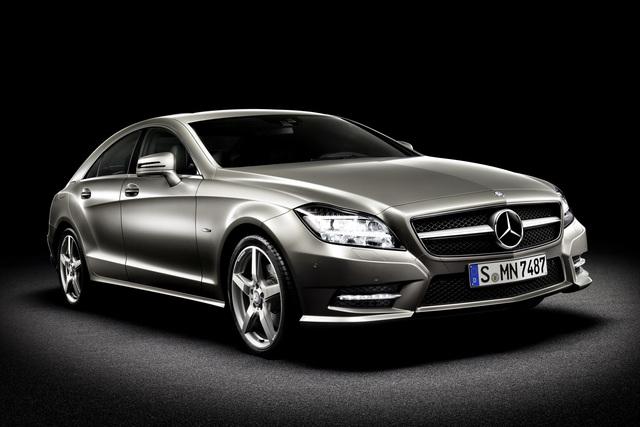 Mercedes-Benz CLS - Stuttgart international