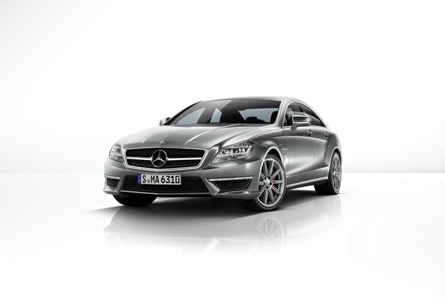 Mercedes CLS 63 AMG - Hochleistung auch auf allen Vieren