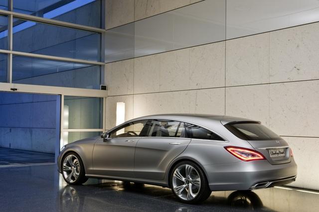 Mercedes CLS Shooting Brake - Kombi in edlem Gewand (Vorabbericht)