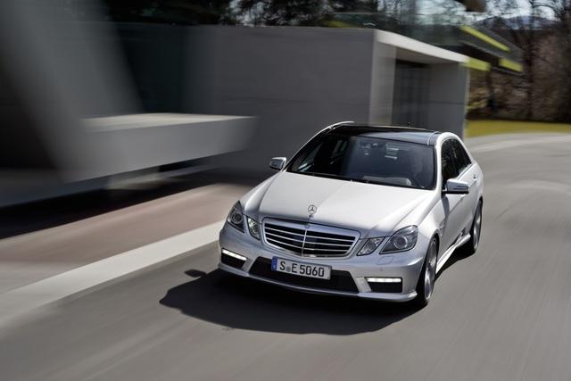 Mercedes-Benz E 63 AMG - Kleiner ist stärker