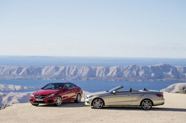 Mercedes E-Klasse Coupe und Cabrio - Neue Front, bekanntes Heck (Vorabbericht)