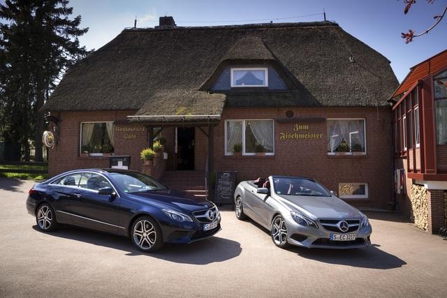 Mercedes E-Klasse Cabriolet und Coupe - Zwei wie Himmel und Erde (Kurzfassung)
