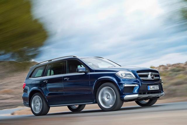 Mercedes GL - Automatisch rein und raus