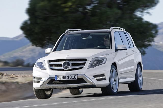 Mercedes GLK - Rund statt eckig